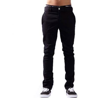Dickies WP803 Slim Skinny Fit Work Pant Sort