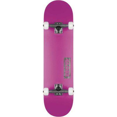 "Globe Goodstock Skateboard Neon purple 8.25"""