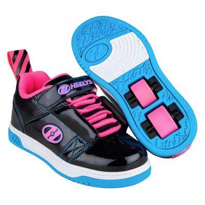 Heelys Rift X2 Rullesko Sort/Neon Pink/Cyan