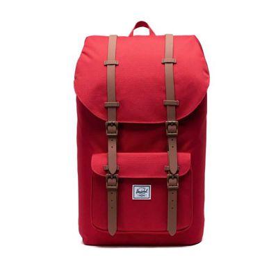 Herschel Little America Red Saddle/Brown 25L