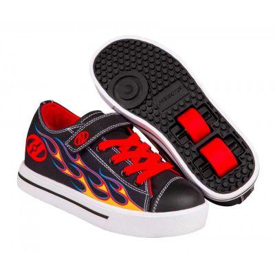 Heelys X2 Snazzy Rullesko Rød Flamme