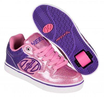 Heelys Motion Plus Rullesko Lilla/Pink Glitter