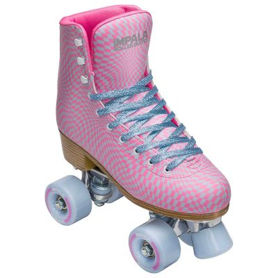 Impala Side by Side Roller Skate Wavy Check