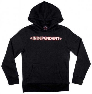 Independent Youth Hættetrøje Bar Cross Sort