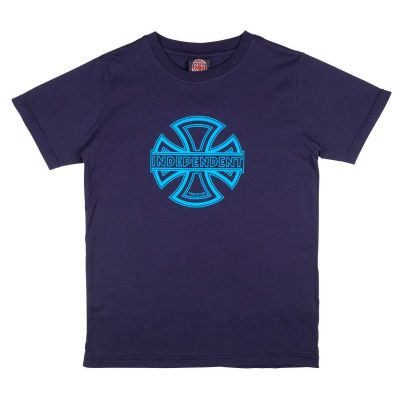 Independent Youth T-Shirt Convex Mørk Navy
