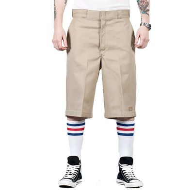 "Dickies 13"" Work Shorts Khaki"