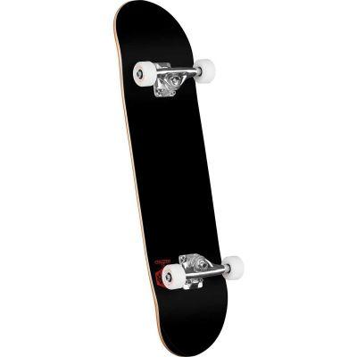Mini Logo Skateboard Chevron Detonator Black 8.0 x 31.45