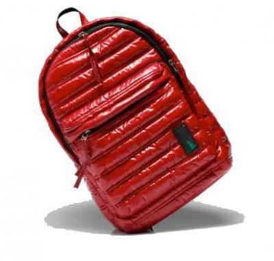 Mueslii rygsæk rød