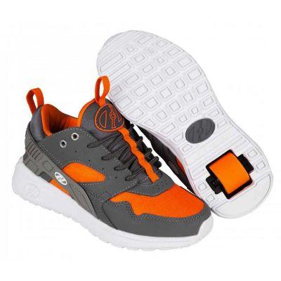 Heelys Force Rullesko Dark Grey/Grey/Orange