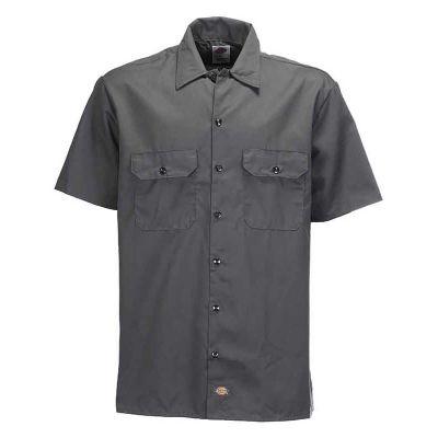Dickies 1574 Work Shirt Kortærmet Skjorte Charcoal Grey