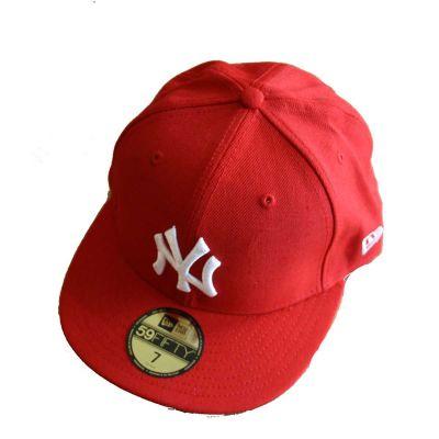 New Era Basic MLB Scarlet/white