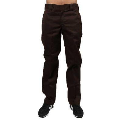 Dickies 873 Bukser / Slim Straight Work Pant Chocolate Brown