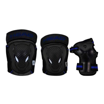 HEAD Beskyttelsessæt Sort/Blå