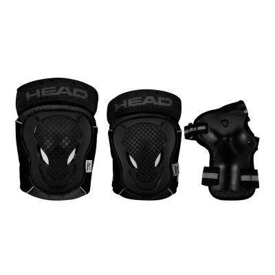 HEAD Beskyttelsessæt Sort/Grå