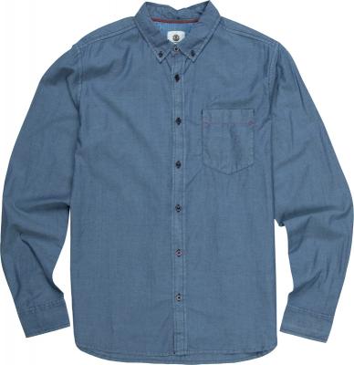 Element Skjorte Cooper LS Indigo Blue
