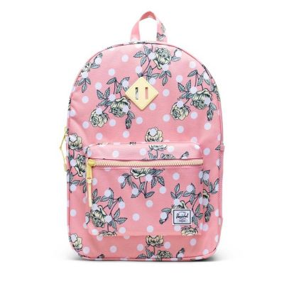 Herschel Heritage Youth X-Large Polka Floral Peony