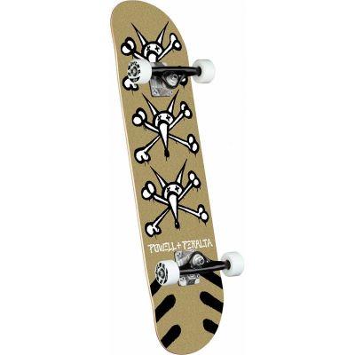 Powell Peralta Vato Rats Gold Skateboard - 8 x 31.45