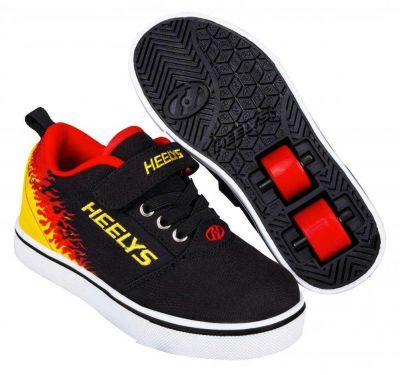 Heelys Pro 20 X2 Rullesko Sort/Flames