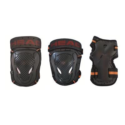 HEAD Beskyttelsessæt Sort/Orange