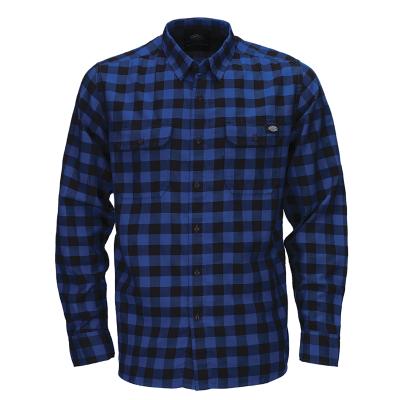 Dickies Jacksonville Langærmet Skjorte Royal Blue
