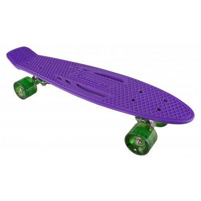 KARNAGE SS15 Retro skateboard Purple/Grn