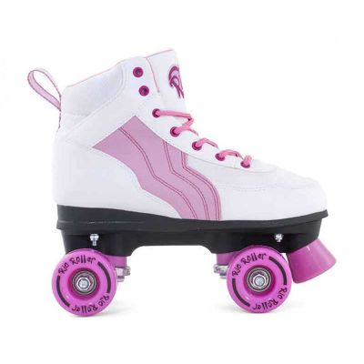 Rio Roller Side By Side Pure White Pink