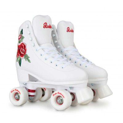 Rookie Rollerskates Rosa White