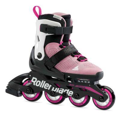 Rollerblade Microblade G Inline Rulleskøjte Pink/Hvid