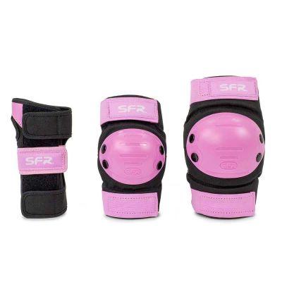 SFR Youth Ramp Skate Beskyttelse 3-pak Pink