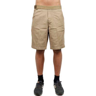 Jimmy'z Twill Flat Front Shorts Khaki