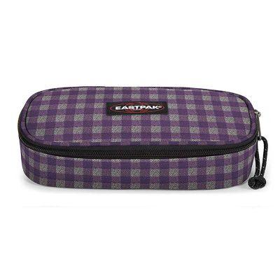 Eastpak Oval Penalhus Checksange Purple