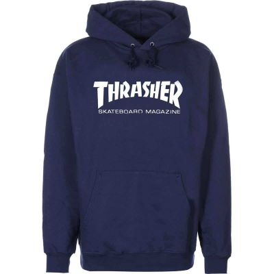 Thrasher Skate Magazine Hoody Navy Blue
