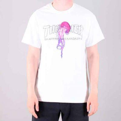 Thrasher Atlantic Drift kortærmet T-Shirt Hvid