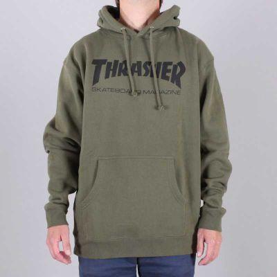 Thrasher Hood Skate MAG Army