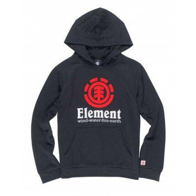 Element Vertical Flint Hættetrøje Børn Sort
