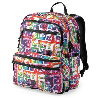 Jeva Backpack Square Alphabet