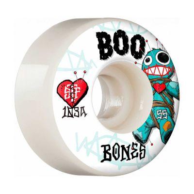 Bones Wheels PRO STF Skateboard Hjul Boo Voodoo 55mm V4 Wide 103A 4-pak