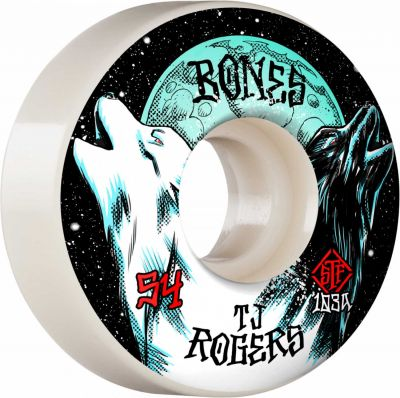 Bones Wheels PRO STF Skateboard Hjul Rogers Spirit Howl 54mm V3 Slims 103A 4-pak