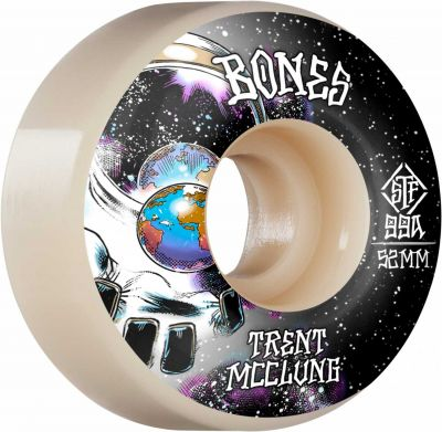 Bones Wheels PRO STF Skateboard Hjul Trent McClung Unknown 52mm V1 Standard 99A 4-pak