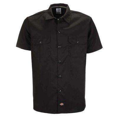 Dickies WS576 Kortærmet Skjorte Slim Fit Sort