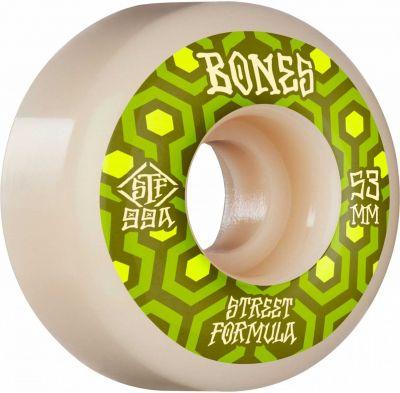 Bones Wheels STF Skateboard Hjul Retros 53mm V1 Standard 99A 4pk
