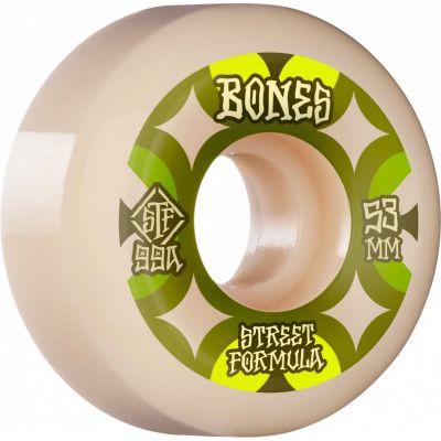 Bones Wheels STF Skateboard Hjul Retros 53mm V5 Sidecut 99A 4pk
